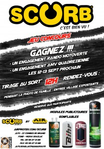 Flyer promo scurb - réservé participants
